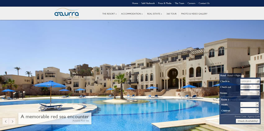 Azzurra Red Sea - Home Page